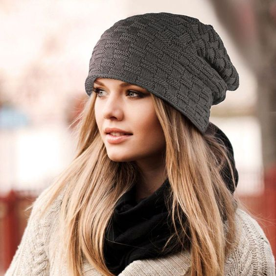 Trendy And Easy Ways To Wear Your Hair Under A Beanie Dryluxe Blow Dry